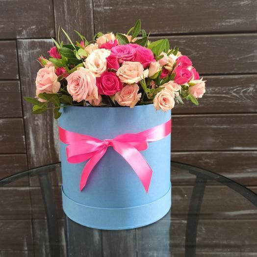 Милая коробочка кустовой розы