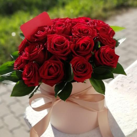 "Цилиндр Cylinder ""Red roses"""