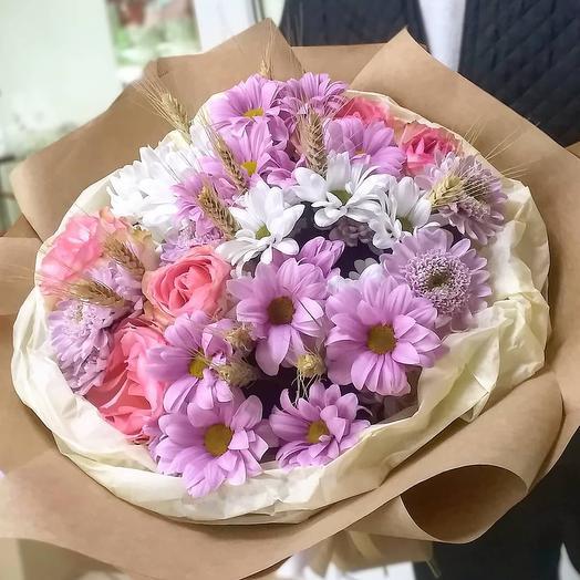 Букет Цветочный зефир