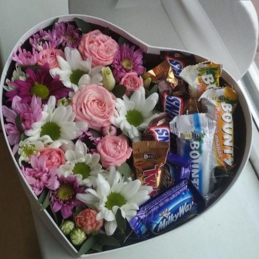 Сердце со сладостями (набор 1)