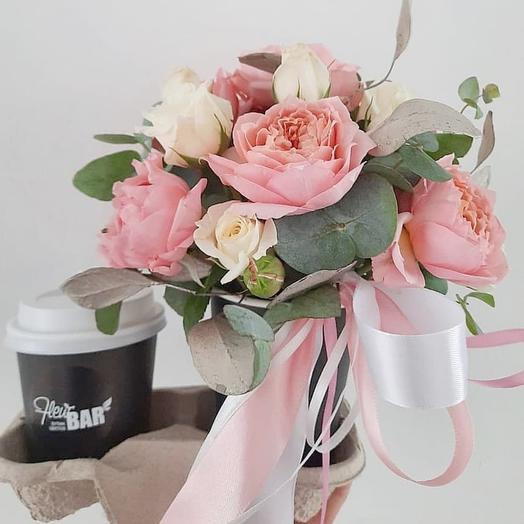 Сет Цветы+кофе