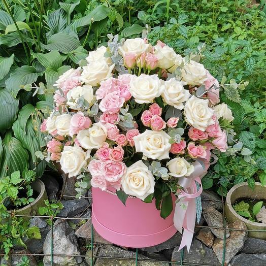 Розы в аквабоксе