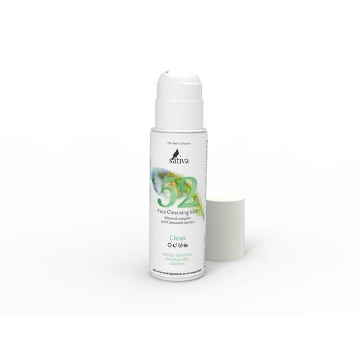 Очищающее молочко для лица 52, Sativa