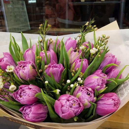 25 тюльпанов Дабл Прайс