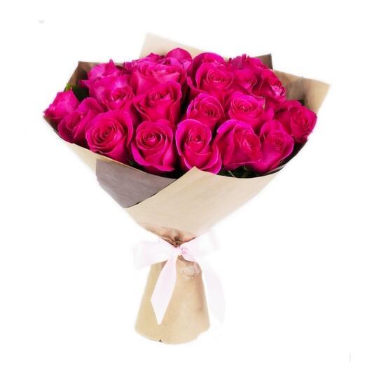 Ароматные розы 21шт