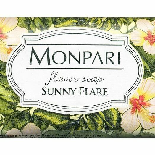 Мыло НМЖК туалетное Monpari Sunny Flare 200 гр