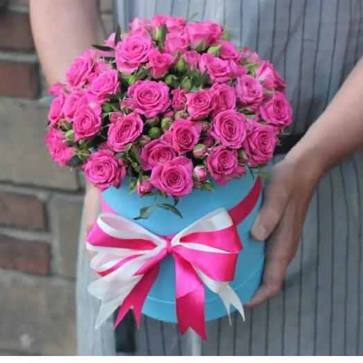 Цветы в коробке9