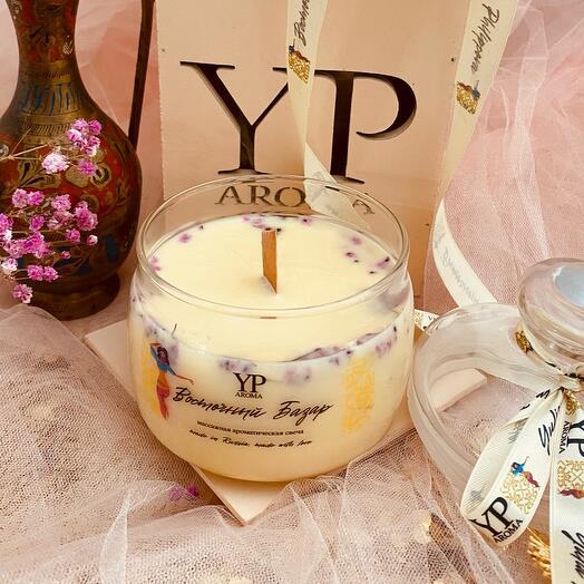 Массажная ароматическая свеча Восточный базар