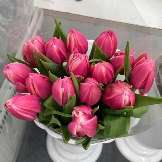 15 пионовидных тюльпана