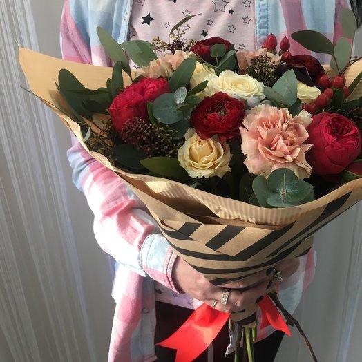 Букет огонь и пламя: букеты цветов на заказ Flowwow