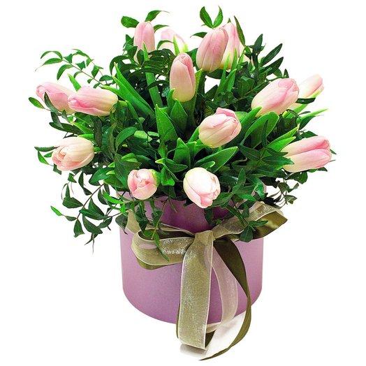 Коробочка с тюльпанами 15