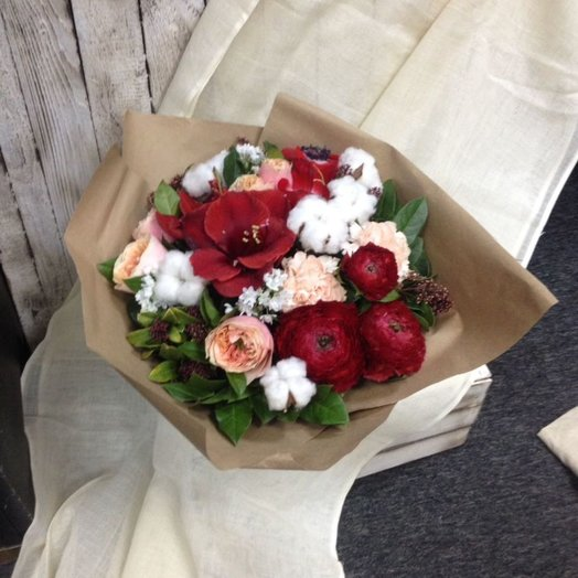 Маки на снегу: букеты цветов на заказ Flowwow