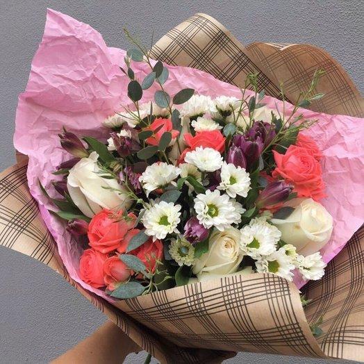 Робкая надежда: букеты цветов на заказ Flowwow