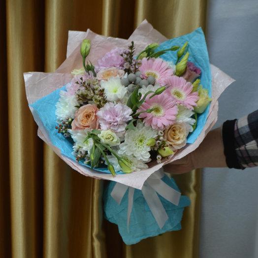 "Букет ""Тиффани"": букеты цветов на заказ Flowwow"
