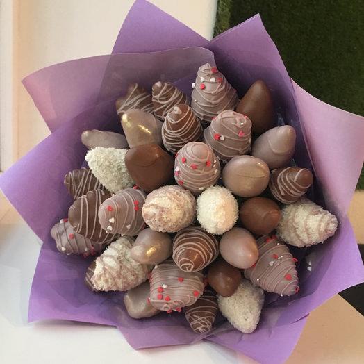 Букет Шоколадный фонтан: букеты цветов на заказ Flowwow