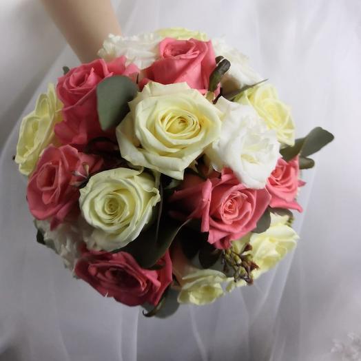 """Букет невесты """" Милый"""": букеты цветов на заказ Flowwow"""