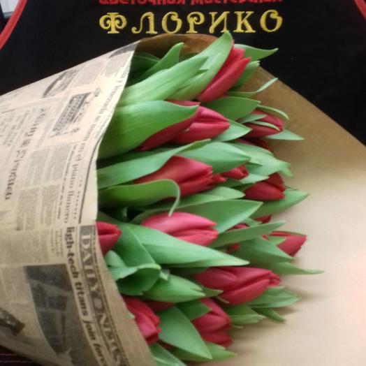 Тюльпан35: букеты цветов на заказ Flowwow