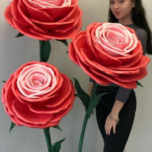 Ростовые розы: букеты цветов на заказ Flowwow