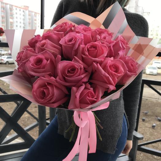 Розы моно: букеты цветов на заказ Flowwow