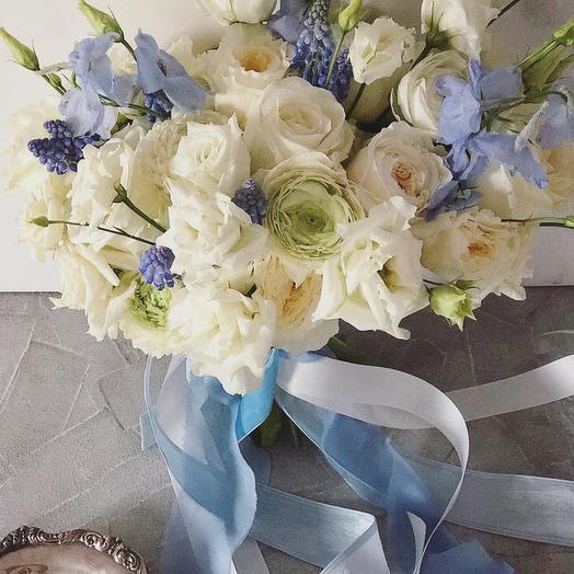 Цвета неба: букеты цветов на заказ Flowwow