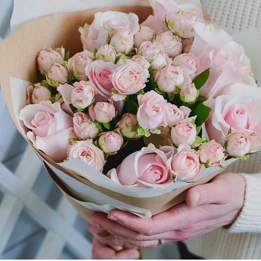 Букет «Ласковый»: букеты цветов на заказ Flowwow