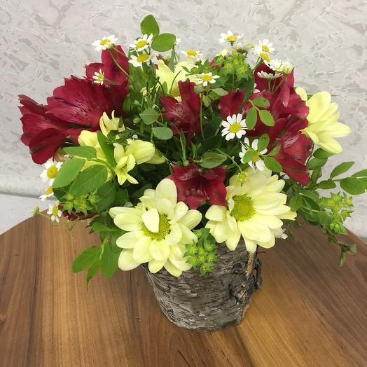 Закатное солнце: букеты цветов на заказ Flowwow