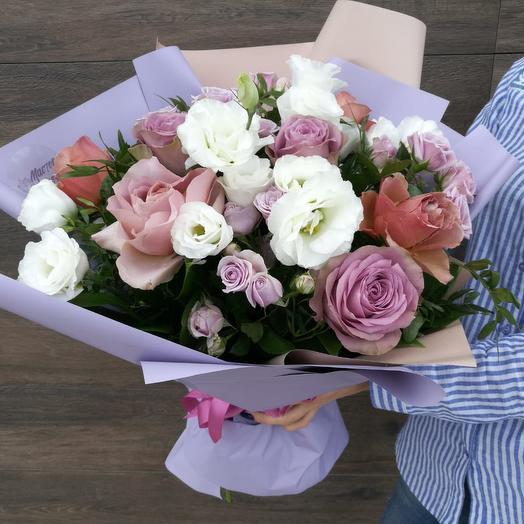 Букет Амстэр: букеты цветов на заказ Flowwow
