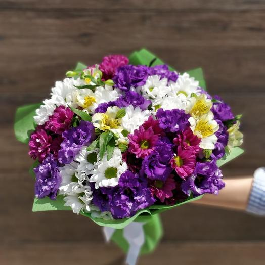 A bouquet of Bright mix: flowers to order Flowwow