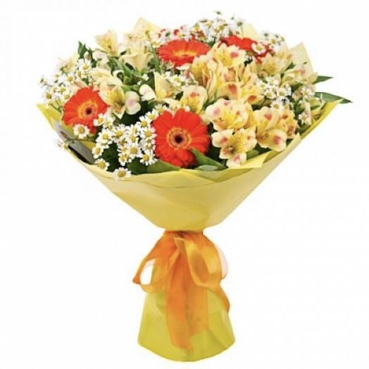 Букет на 1 сентября ,,Отличник: букеты цветов на заказ Flowwow