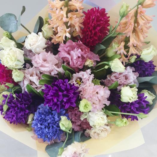 Пешком по радуге: букеты цветов на заказ Flowwow