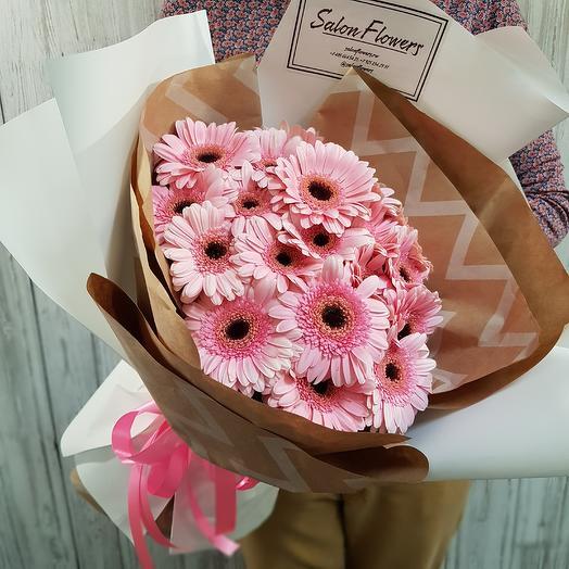 Гермини Пинк: букеты цветов на заказ Flowwow