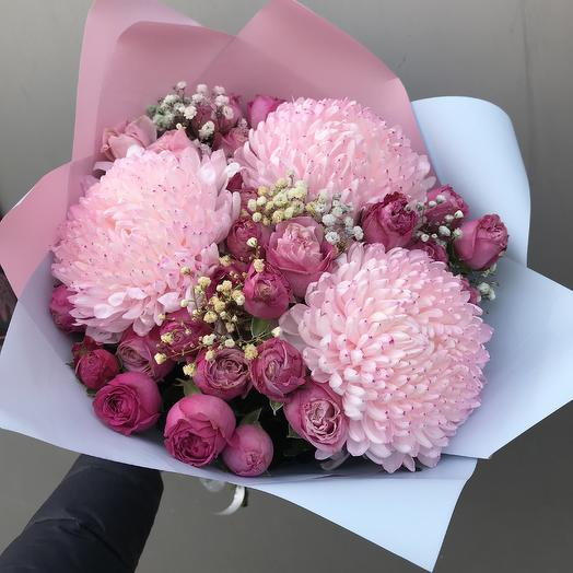 Букет Зефирный: букеты цветов на заказ Flowwow