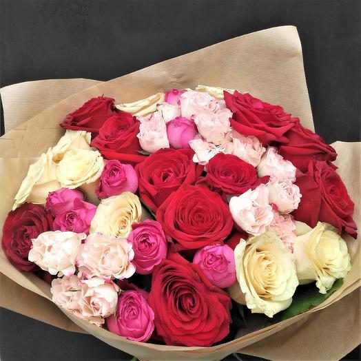 """Букет """"Сказки Шахеризады"""": букеты цветов на заказ Flowwow"""
