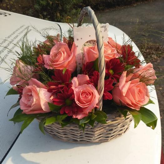 "Корзина""карина"": букеты цветов на заказ Flowwow"