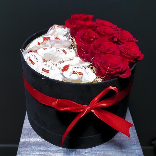 Классическая коробка: букеты цветов на заказ Flowwow