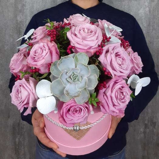 Розовые грезы: букеты цветов на заказ Flowwow