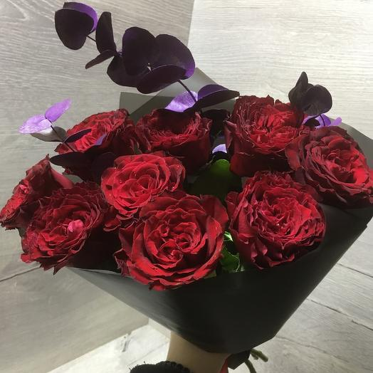 RED LOVE: букеты цветов на заказ Flowwow