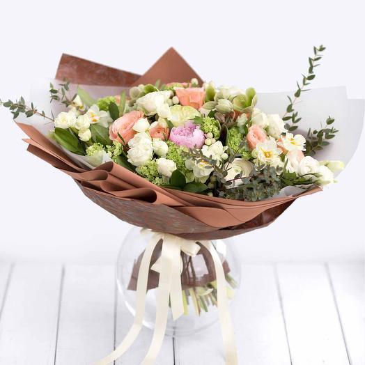 """Большой букет цветов """"Утреннее восхищение"""""""