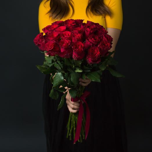 51 Красная Роза (Эквадор): букеты цветов на заказ Flowwow