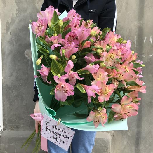 Букет из 11 альстромерий: букеты цветов на заказ Flowwow