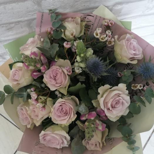 Сиреневое облачко: букеты цветов на заказ Flowwow