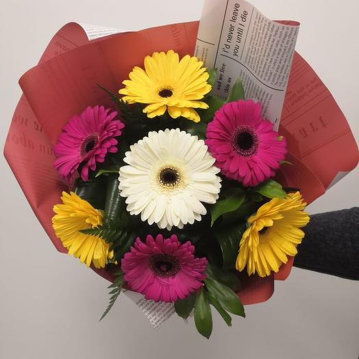 Яркие дни: букеты цветов на заказ Flowwow