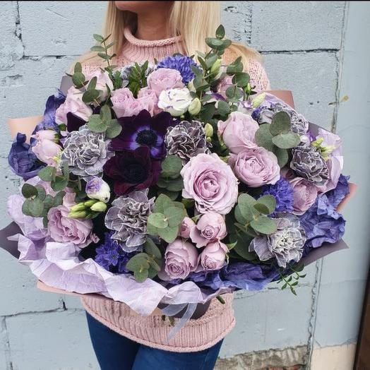 """Букет """"Пудровое утро"""": букеты цветов на заказ Flowwow"""