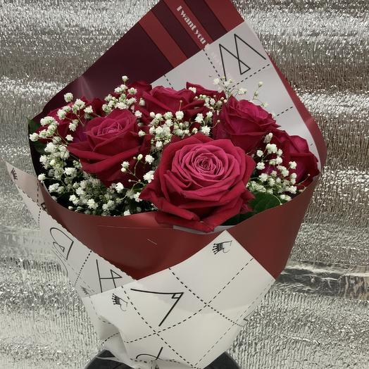Букет Розы : букеты цветов на заказ Flowwow