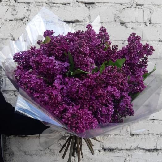 """Букет """"Сиреневый взрыв"""": букеты цветов на заказ Flowwow"""