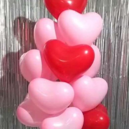 Композиция,,Облачко любви: букеты цветов на заказ Flowwow