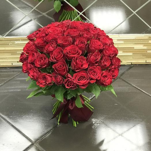 Букет 51шт: букеты цветов на заказ Flowwow