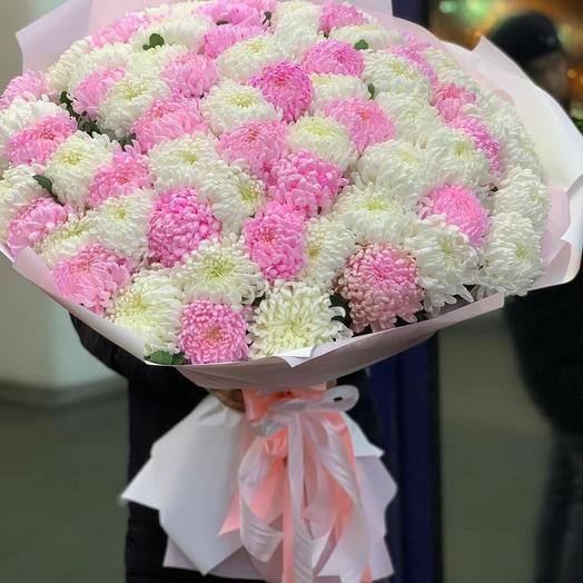 Букеты из хризантем: букеты цветов на заказ Flowwow