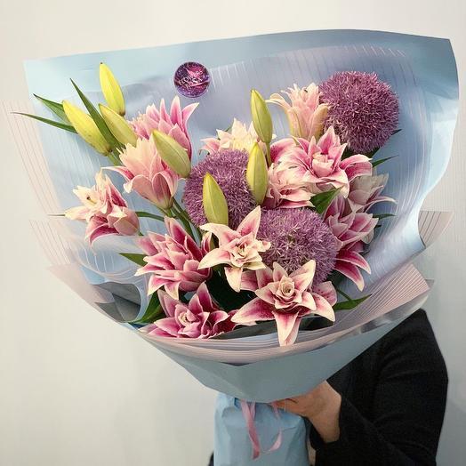 Букет Аромат любви: букеты цветов на заказ Flowwow