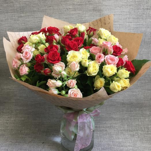 Мелодия цветов🌹: букеты цветов на заказ Flowwow